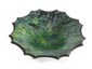 """Arizona Malachite"", Dyed Burl Bowl - Top View"